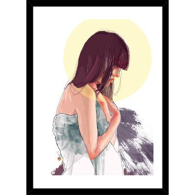 Curioos Hope by Nadiia Cherkasova Framed Painting Print | Wayfair