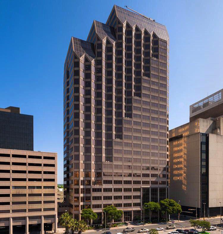 Interfirst Bank Plaza San Antonio Texas Skidmore
