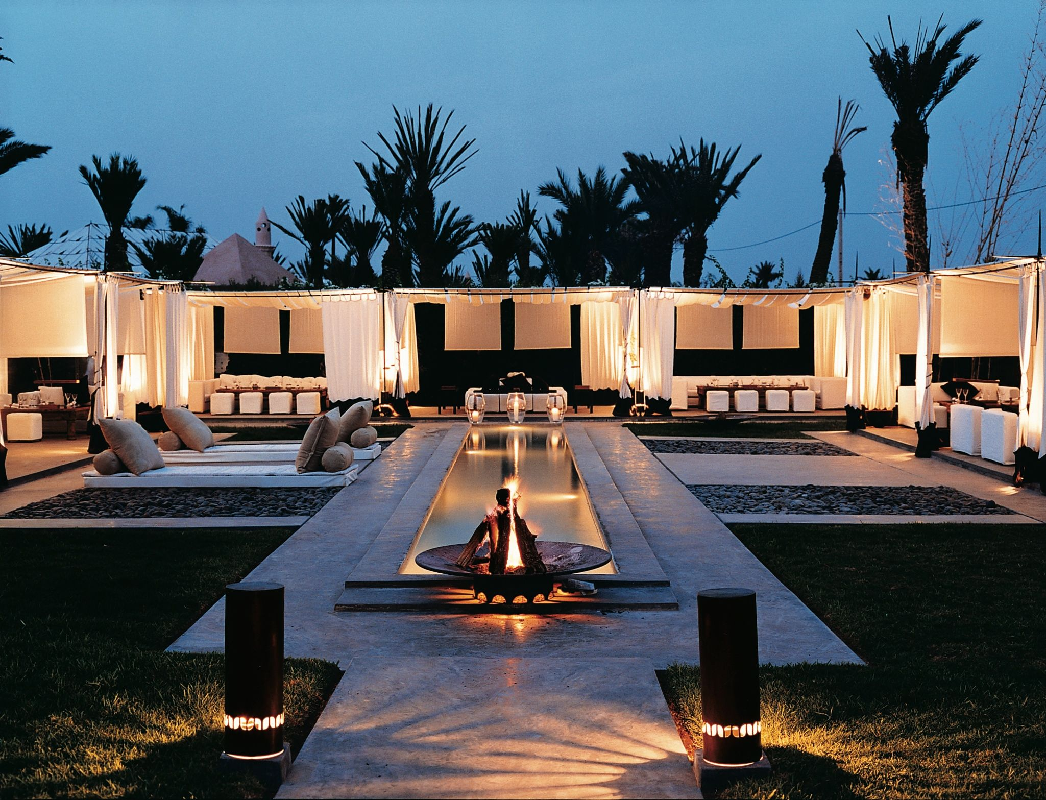 I could be sold on a destination wedding if it was this for Design hotel marrakech