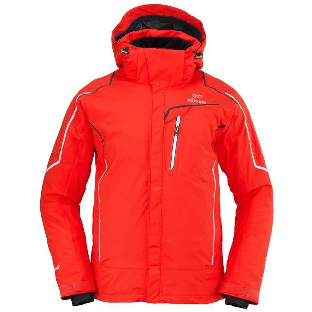 5890ed9c49 Eider Garmisch Mens Jacket in Red
