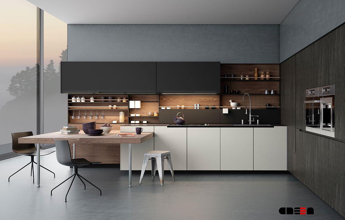 20 Sleek Kitchen Designs With A Beautiful Simplicity Hedendaagse Keuken Ontwerp Modern Keukenontwerp Keuken Hedendaags