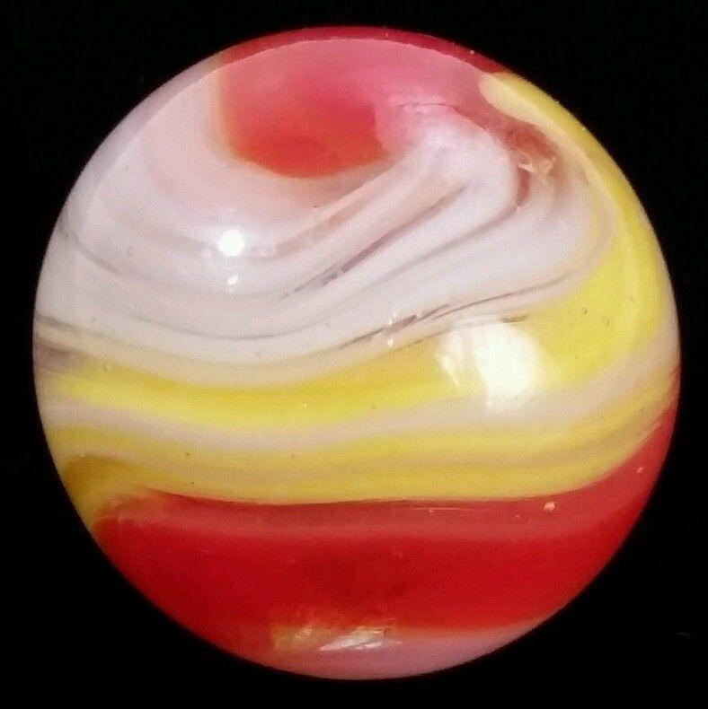 **Beautiful Vintage Akro Agate Popeye Corkscrew Marble** #AkroAgate