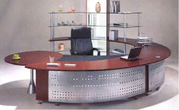 Round Desk.
