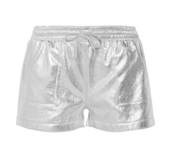 Shop these #metallic shorts by #NormaKamali now > http://outnet.co/1PnjtqJ