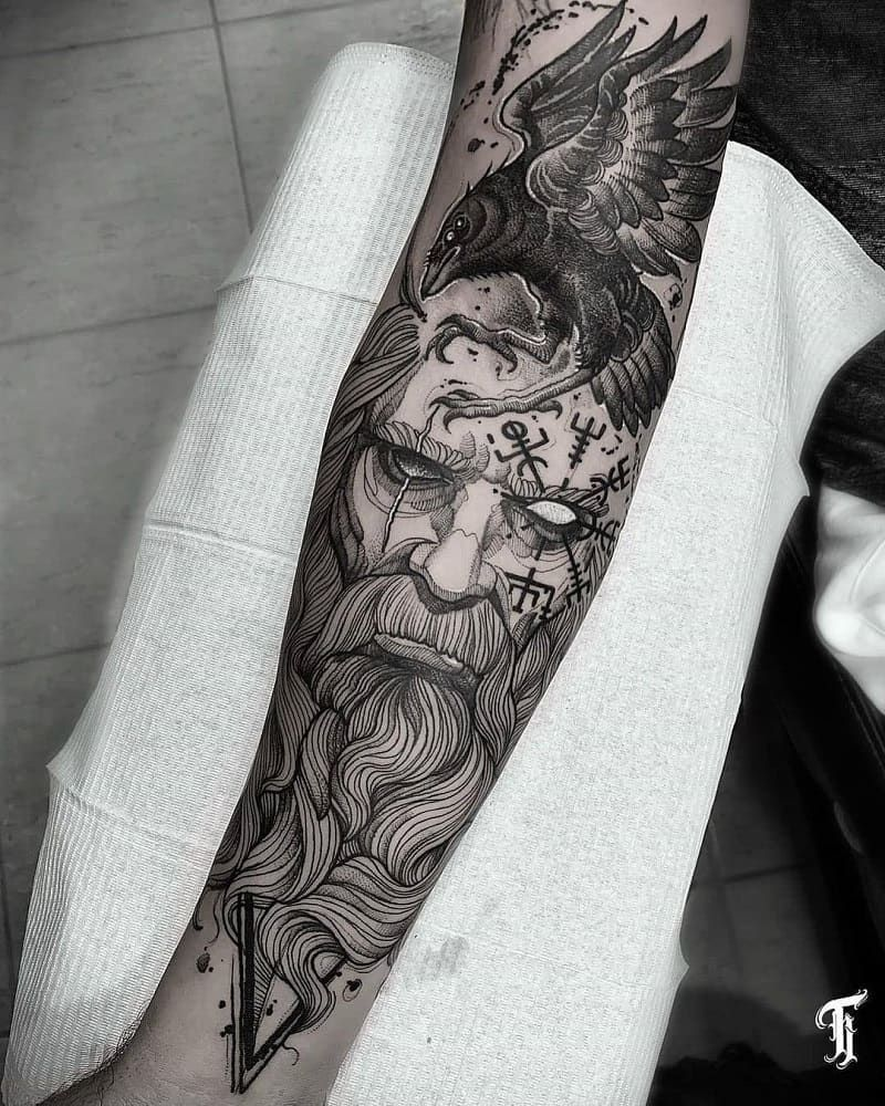 40+ Best Viking Tattoo Sleeve Ideas & Symbolism (2021 Updated)