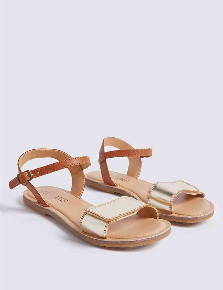Kids' Leather Sandals (13 Small - 6