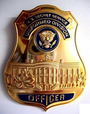Usss Uniformed Division 2 Police Badge Fire Badge Police Patches