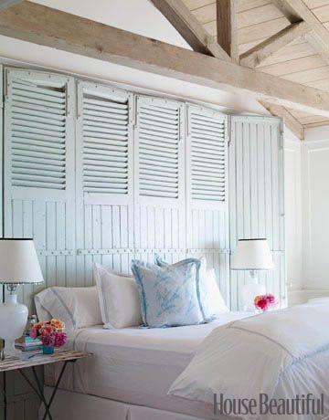Clean white. Design: Carolyn Espley-Miller. #bedroom