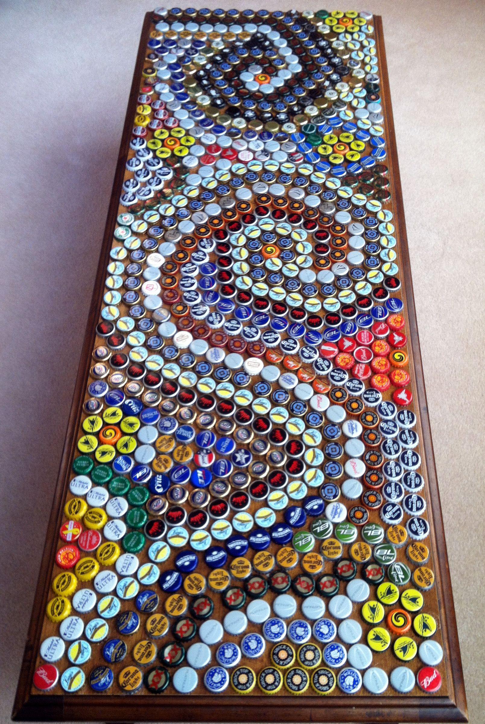 Beer Bottle Top Table Cap