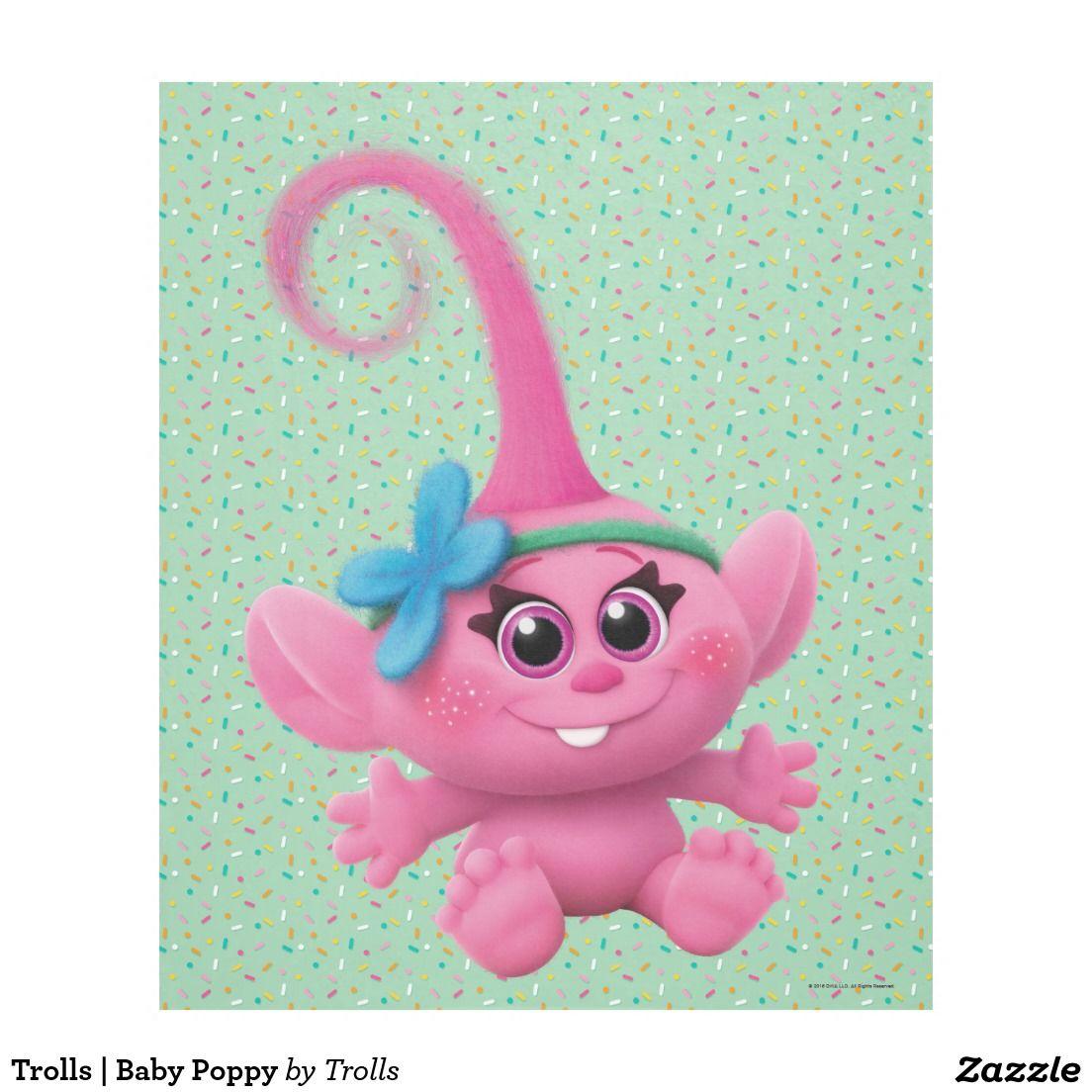 Trolls Baby Poppy Fleece Blanket Trolls Movie Clothing
