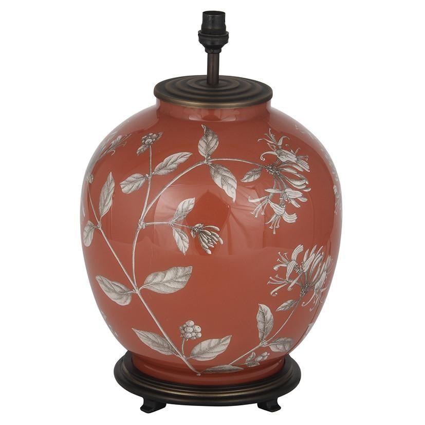 Jenny Worrall Honeysuckle Large Round Table Lamp Large Round
