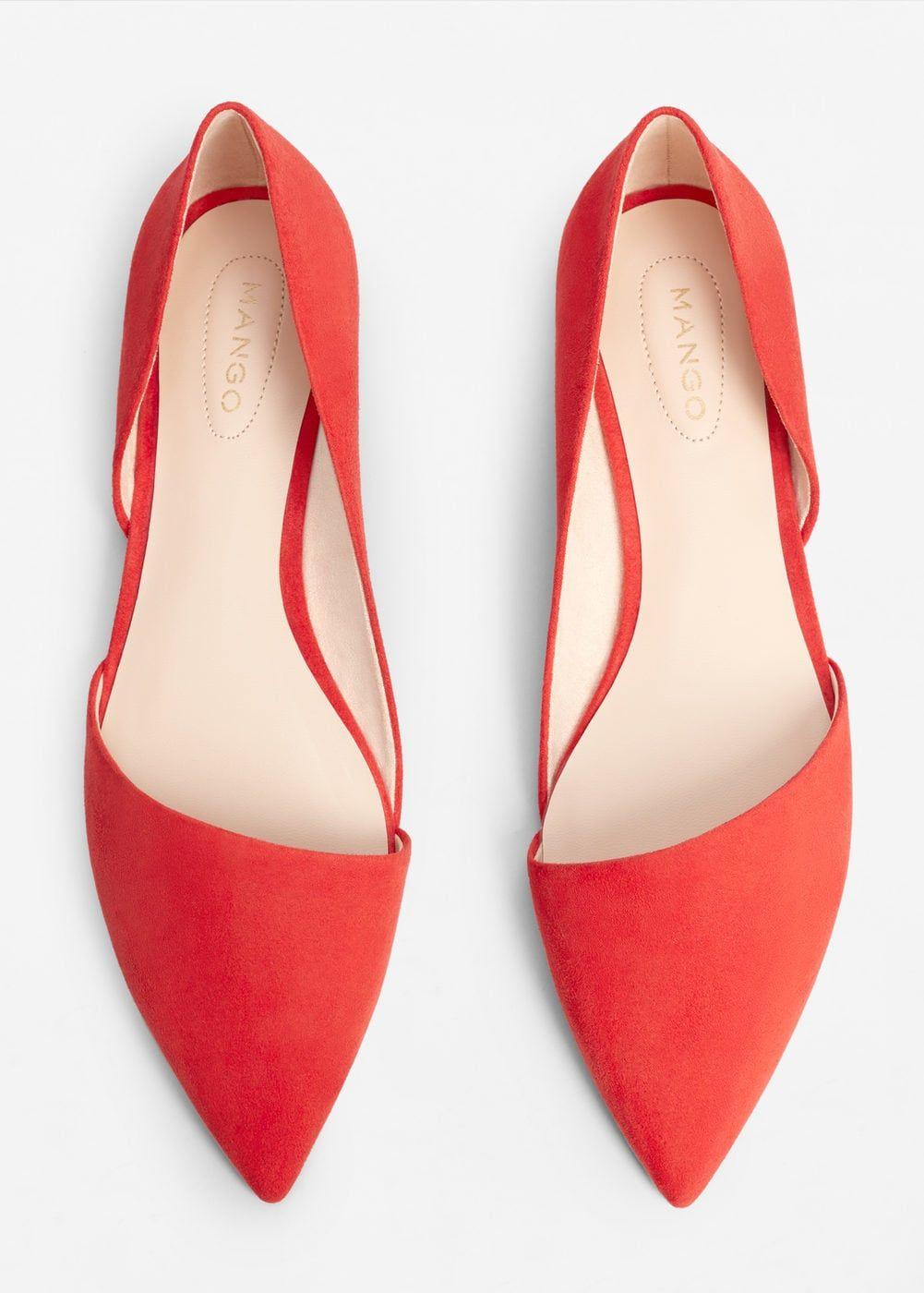 f14d28a9a Sapato raso ponta - Mulher em 2019 | Shoes Land | Black flats shoes ...