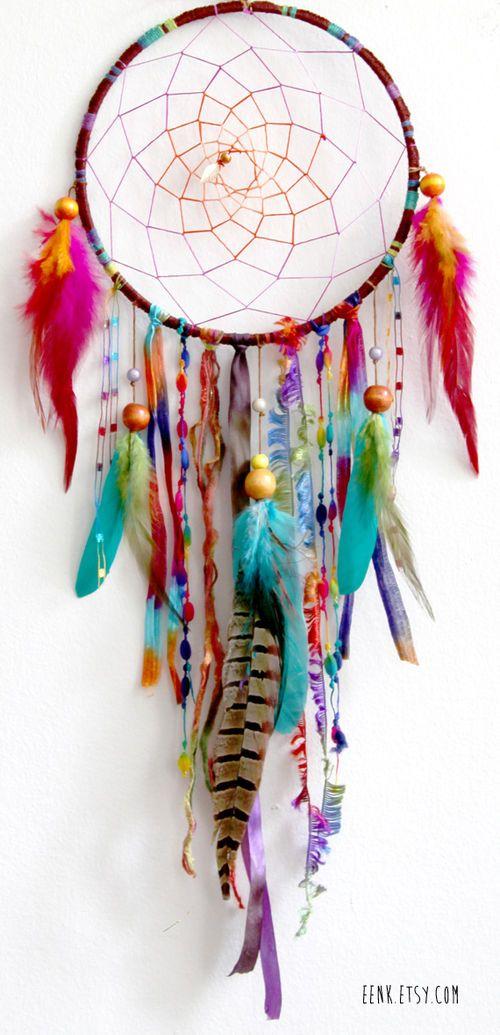 Woodland wanderlust native woven dreamcatcher nursery - Wanderlust geschenke ...