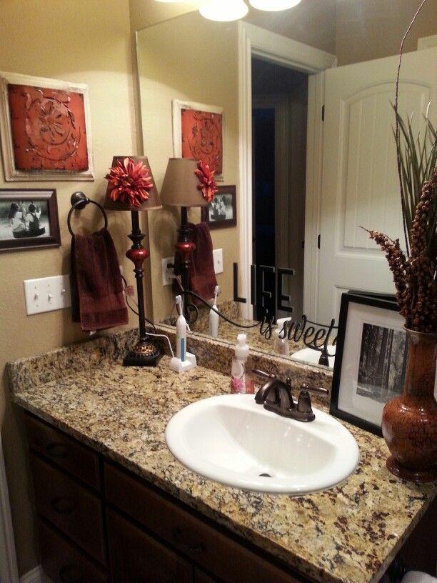 Small Bathroom Makeover Restroom Decor Beautiful