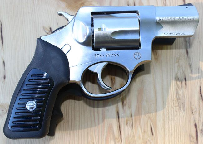 Gun Review: Ruger SP101 .357 (VIDEO) This is what I have chosen to protect MsCarol with. NOTHING is in the league of a 357 Mag! :)