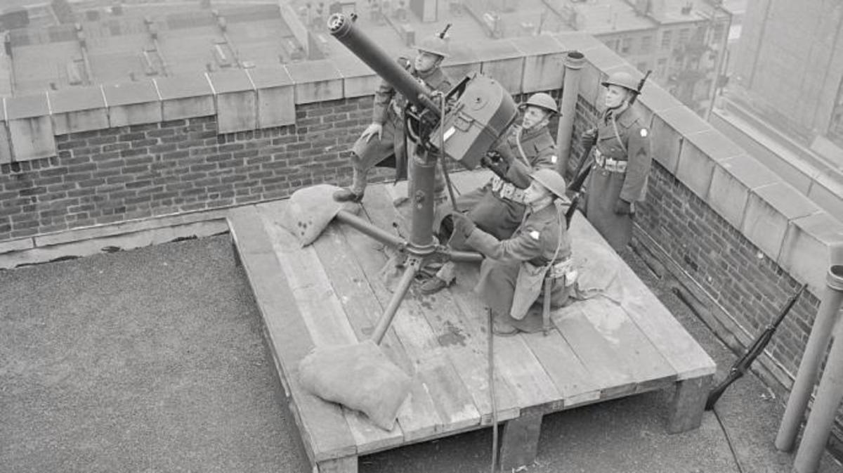 [Photo] 12.8 cm Flakzwilling 40 anti-aircraft gun on