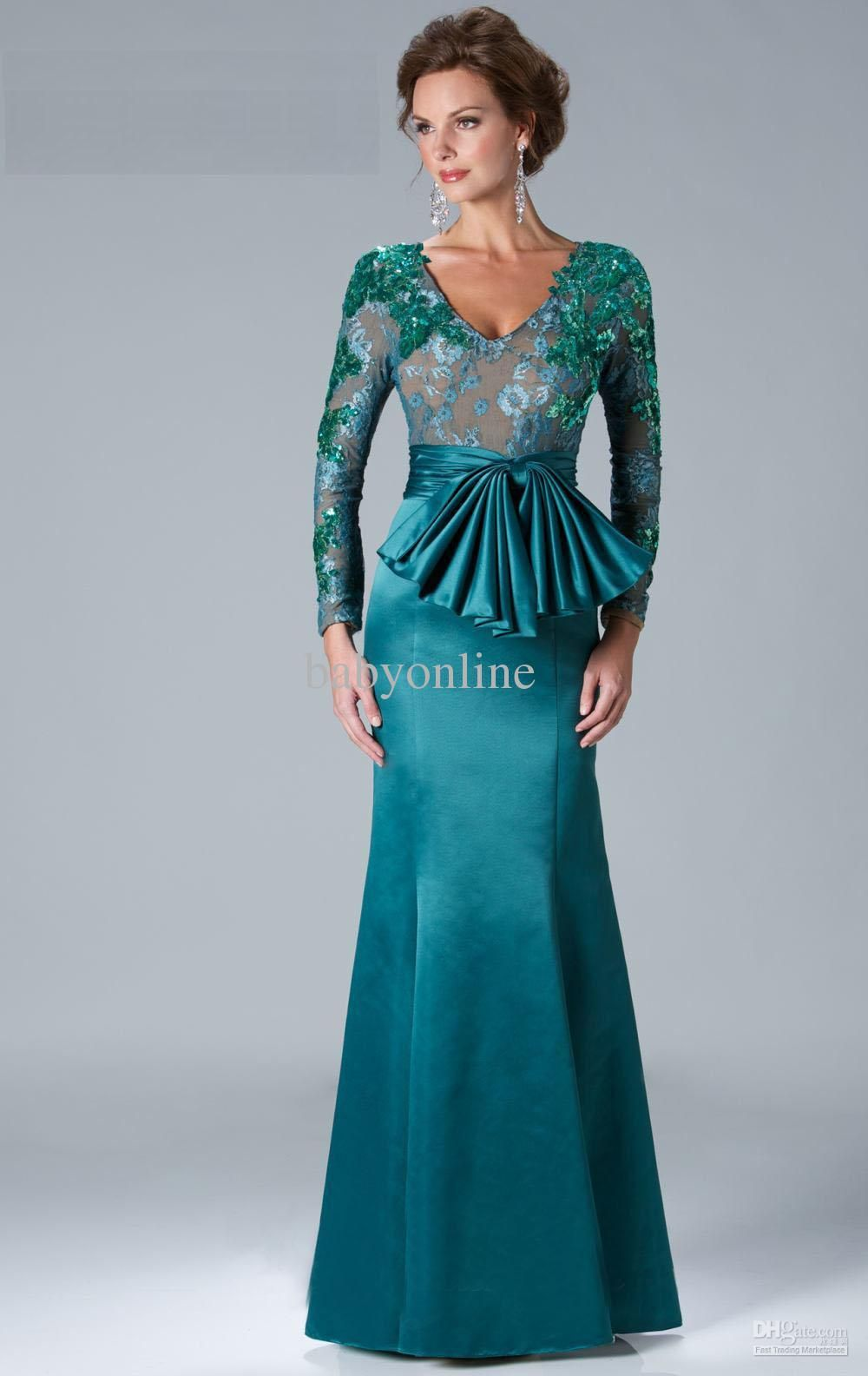 78  images about Evening Dresses on Pinterest - Lace evening gowns ...