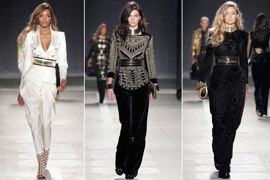 On a flashy rollout for his new collaboration with H&M, Balmain's Olivier Rousteing is the new face of fashion populism.