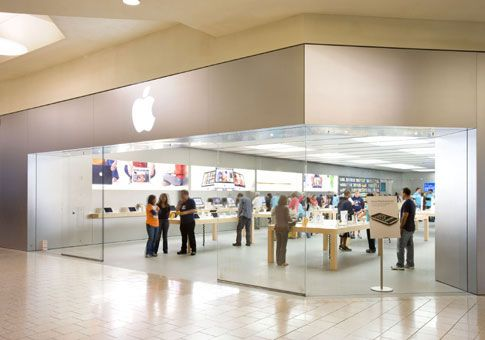 Apple Store Front Mall Mall Stores Short Hills