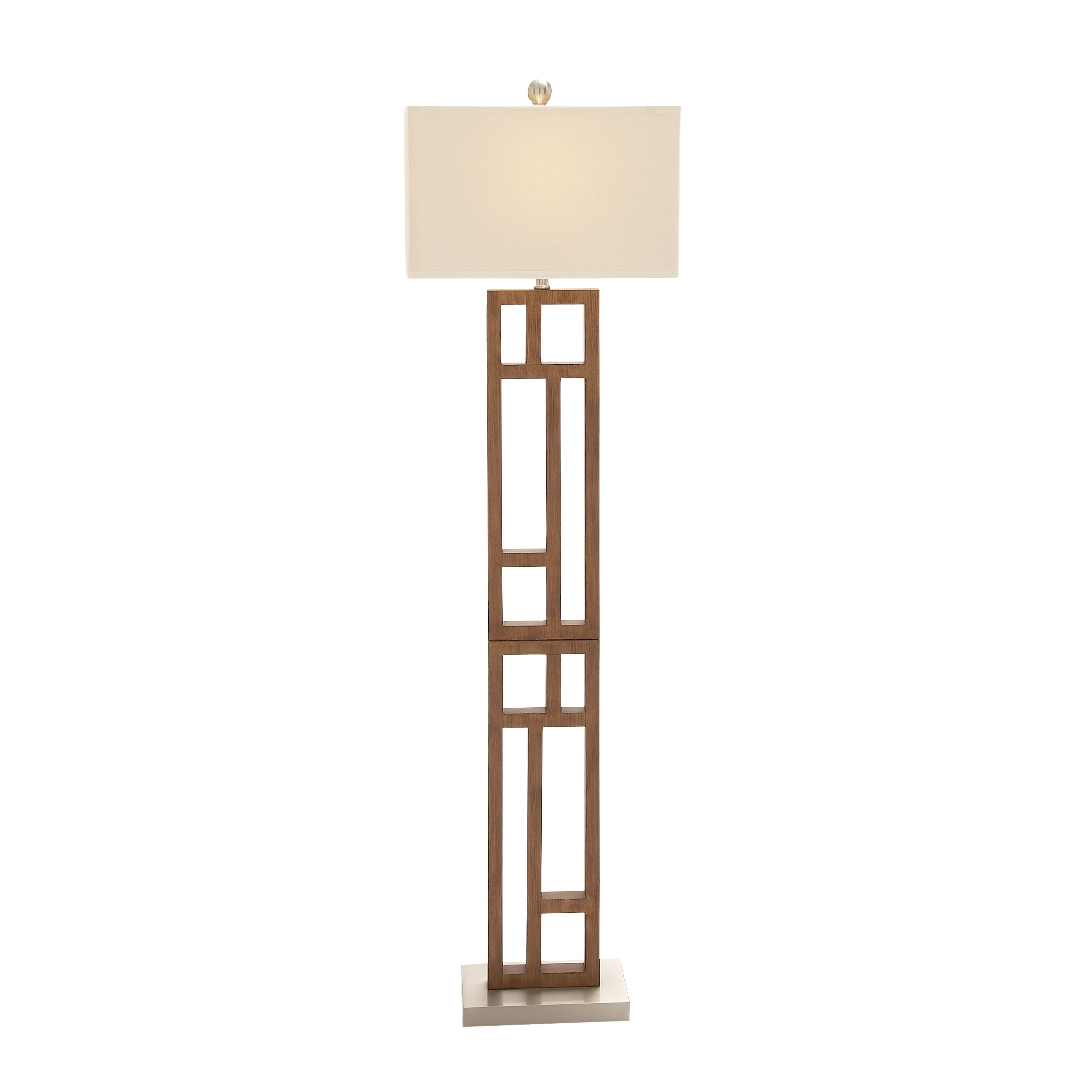 Modern and Stainless Steel Floor Lamp
