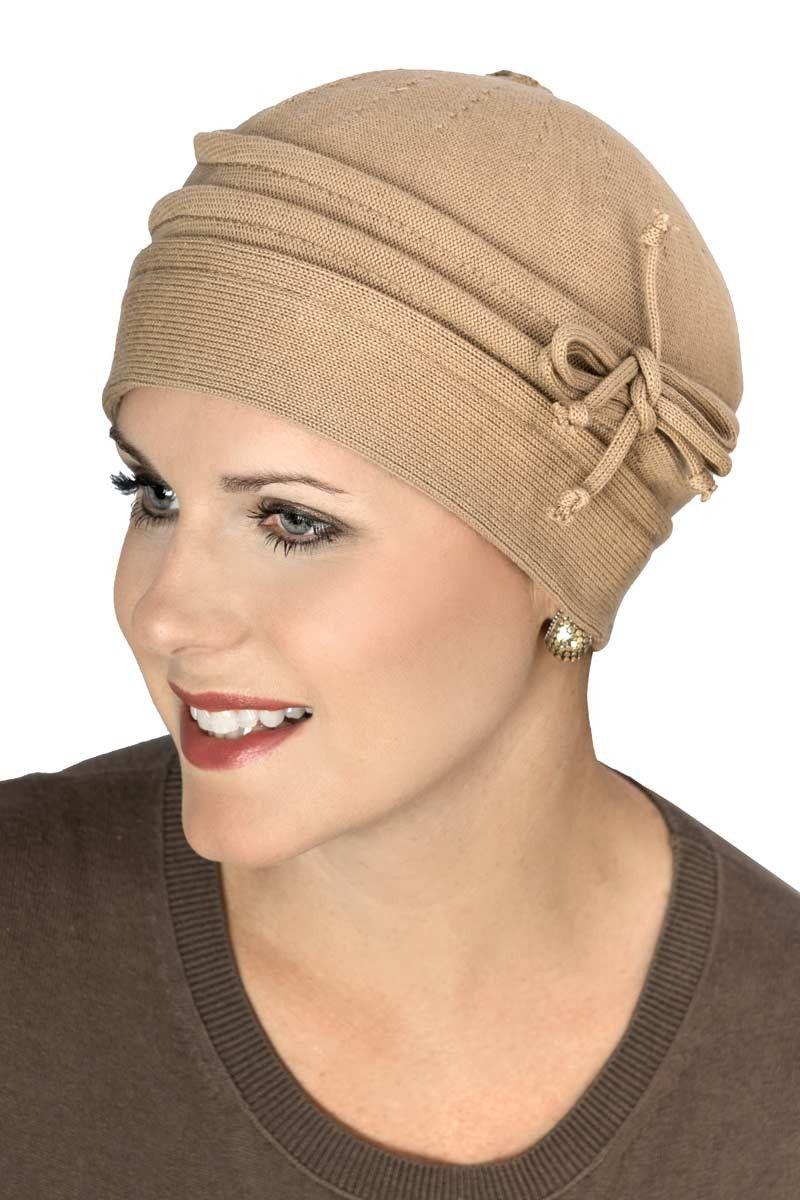 100 Cotton Leesa Beanie Hat Hats for cancer patients