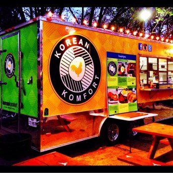 Korean Komfort Food Trailer Food Trucks University Of Texas