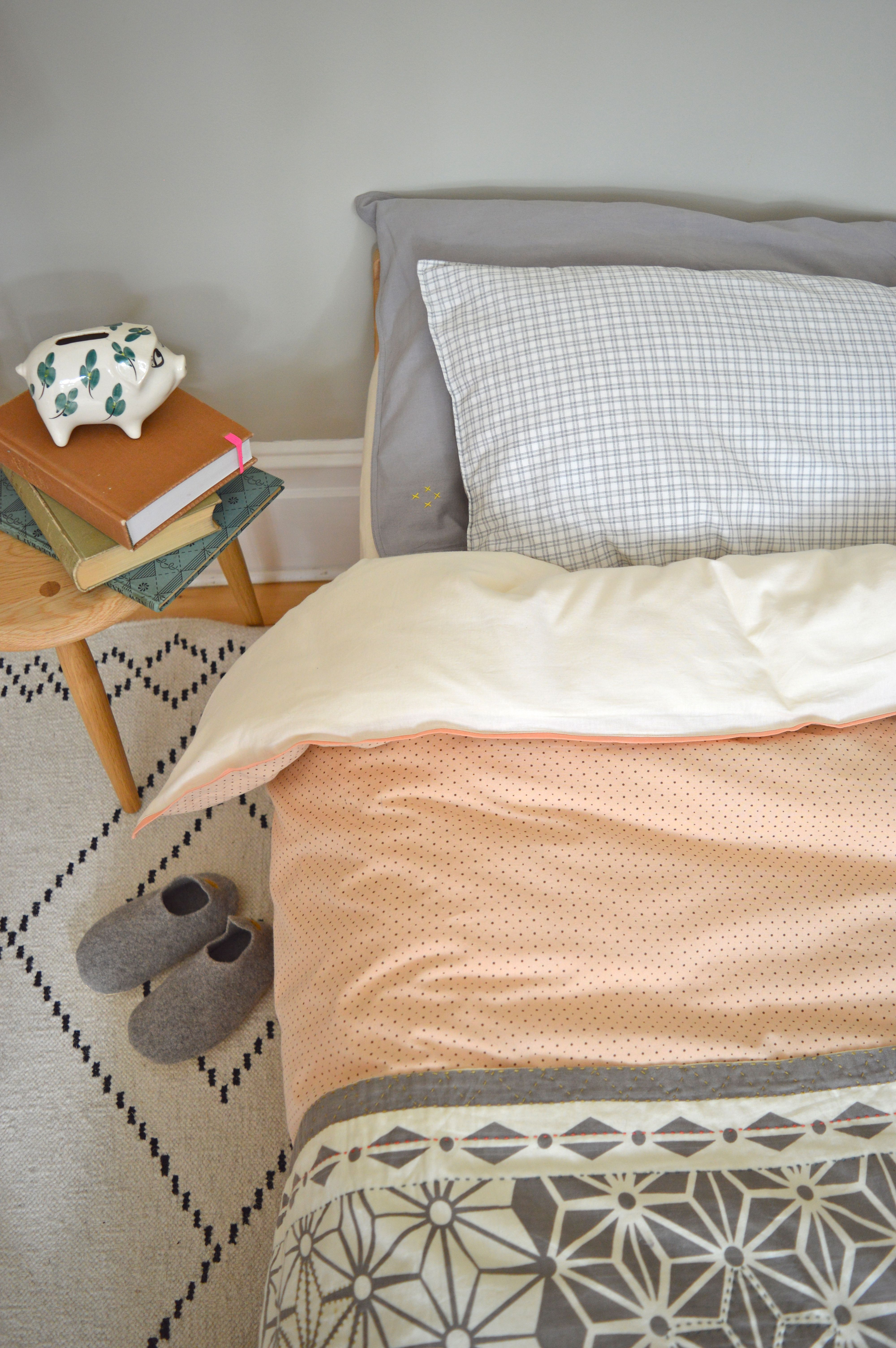 Camomile london's trade mark mix and match kids bedding