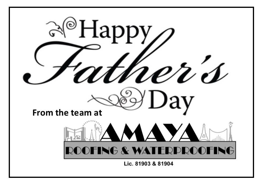 Happy Father S Day From The Amaya Roofing Waterproofing Team Amayaroofing Happyfathersday Happy Fathers Day Happy Father Happy Father Sday