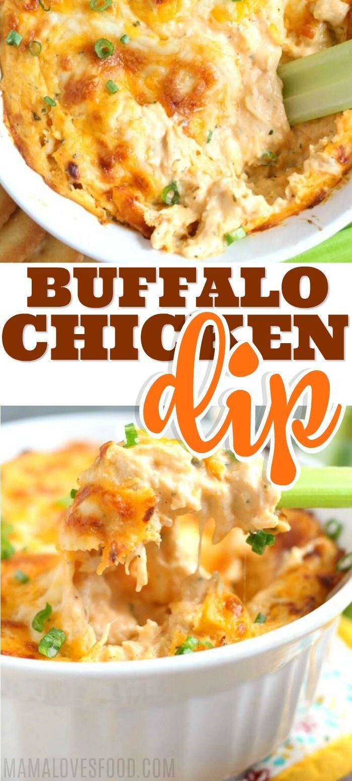 Buffalo Chicken Dip | Mama Loves Food