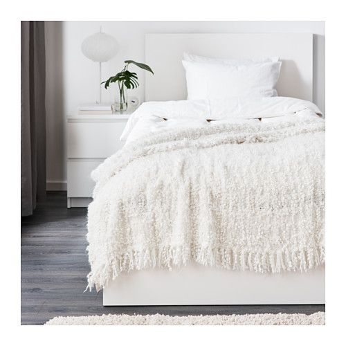 OFELIA Throw - IKEA cute ass throw to lay on TOP of main blanket for  layers    super soft and delicate and fluffy 9e5669a6c3f4