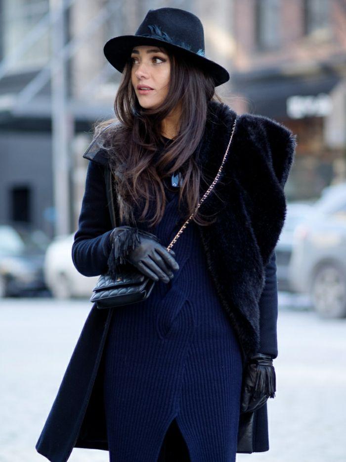 Schwarzer Mantel klassisch oder extravagant? Archzine