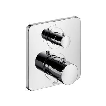 Hansgrohe Axor Citterio M Thermostatbatterie Mit Absperrventil Therme Badezimmer Bad