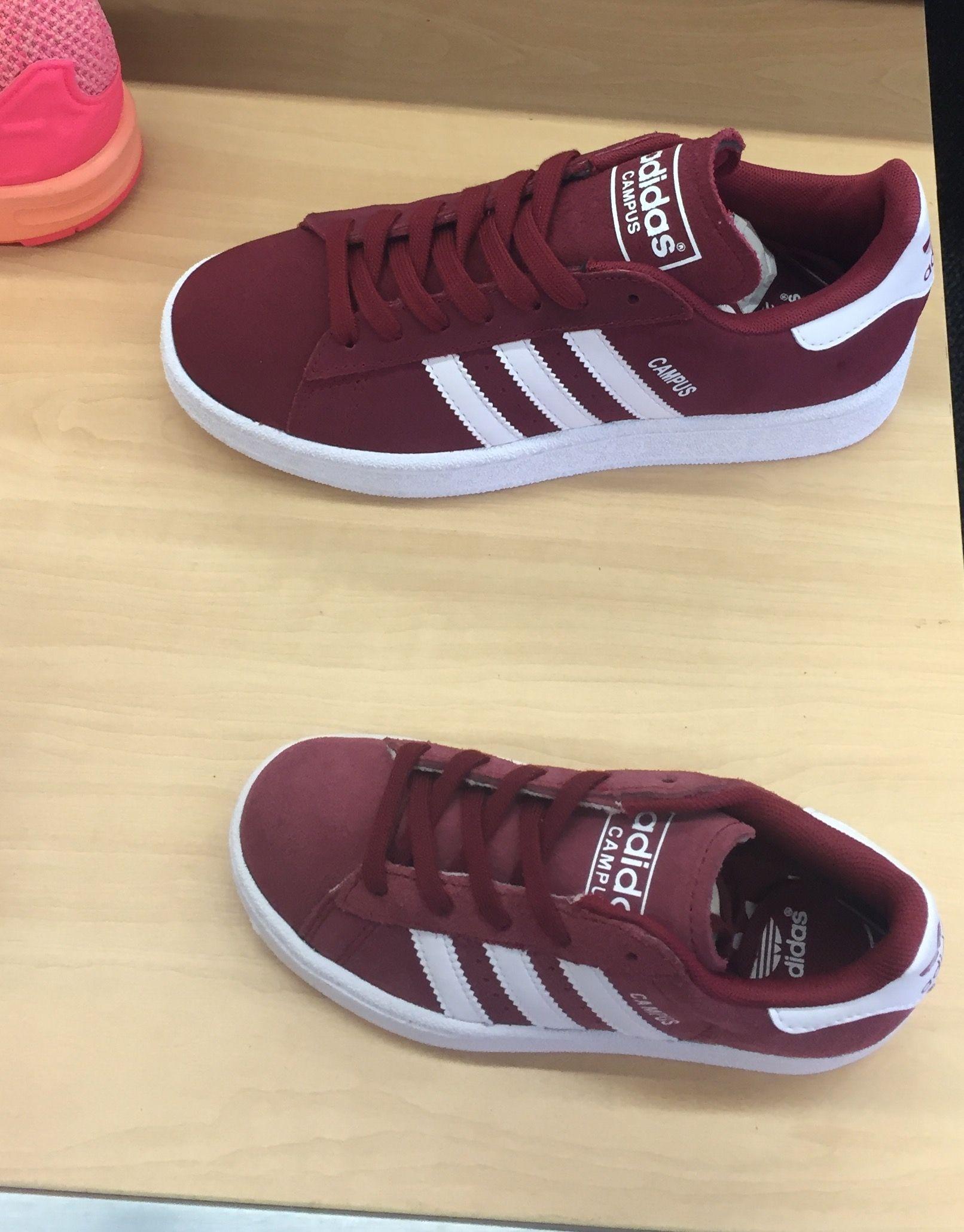 d7569bed1 burgundy adidas superstars