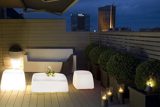 terrazzi arredati moderni - Cerca con Google | giardino | Pinterest