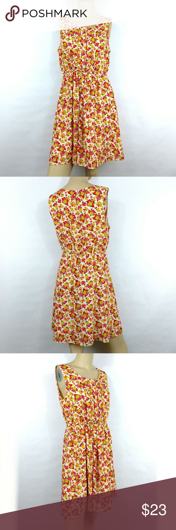 466583d1327 FOREVER 21 New Floral Sleeveless Dress. Medium FOREVER 21 New Floral  Sleeveless Dress. Women s junior Medium New without tags (G) Forever 21  Dresses
