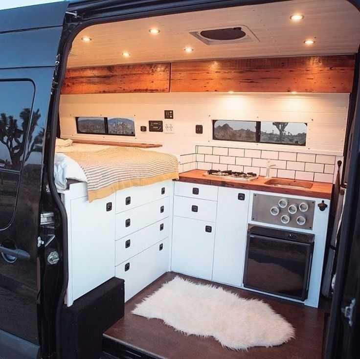Very Nice Foto Lovetotravel Easytravel Van Home Van Interior Campervan Interior