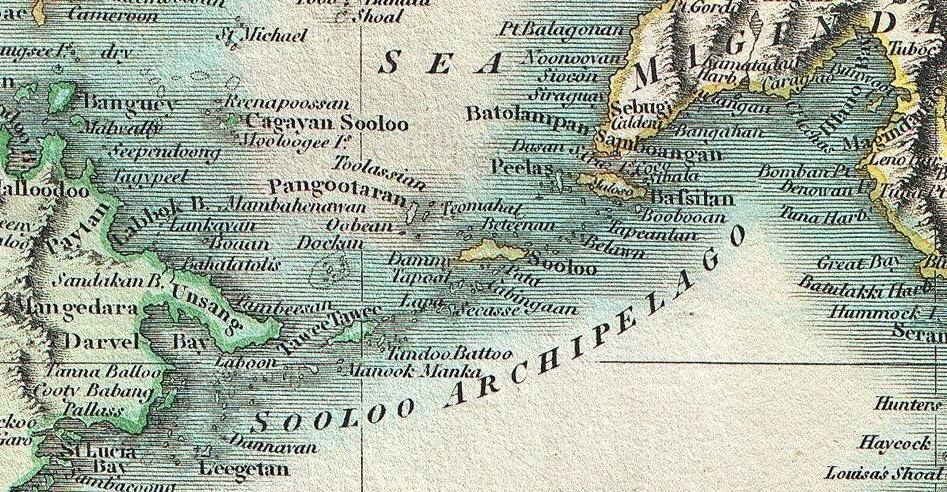 Ancient Map Of Sulu Ancient Maps Cactus Plants Ancient