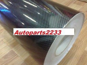12 X 50 1ftx4ft 2d High Gloss Black Carbon Fiber Wrap Vinyl U S Seller Carbon Fiber Wrap Vinyl Carbon Fiber