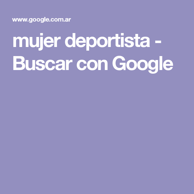 mujer deportista - Buscar con Google