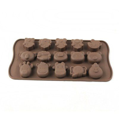 $3.57 (Buy here: http://appdeal.ru/aqic ) Animals Style Chocolate Pudding Ice Cube Tray for just $3.57