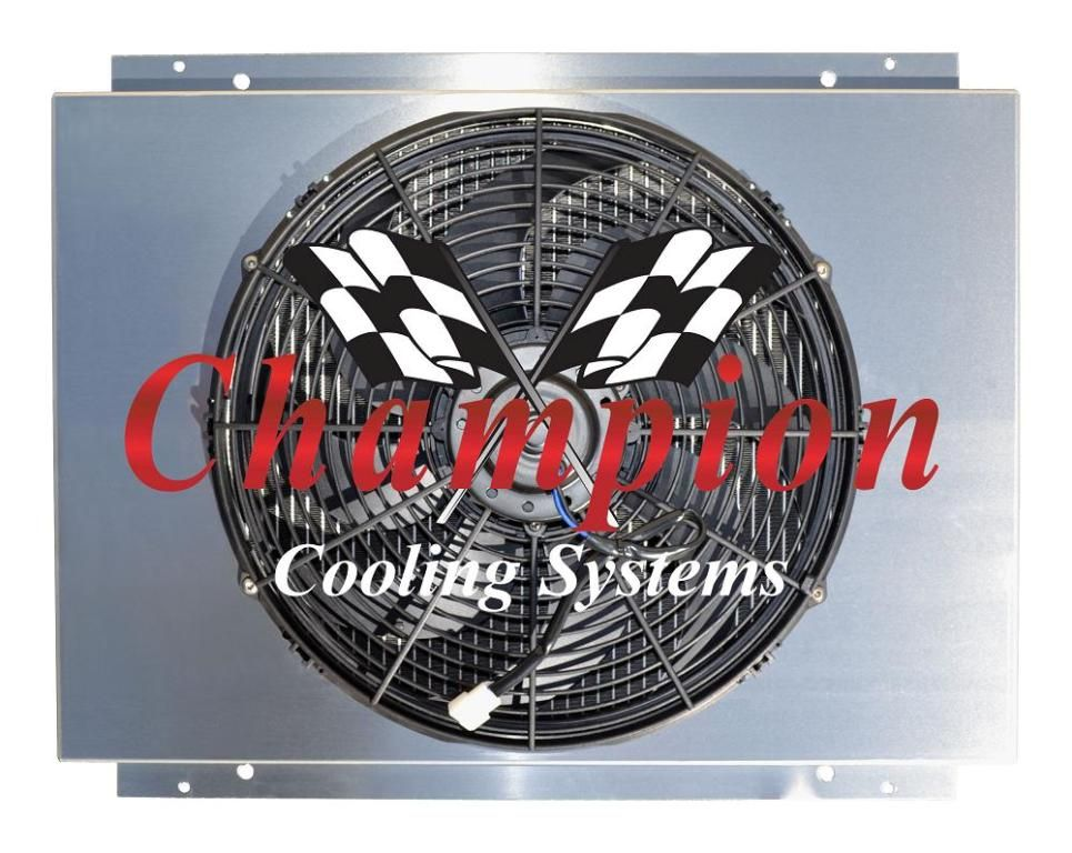 Champion Cooling Systems Fan Shroud Combo Cooling System Cool