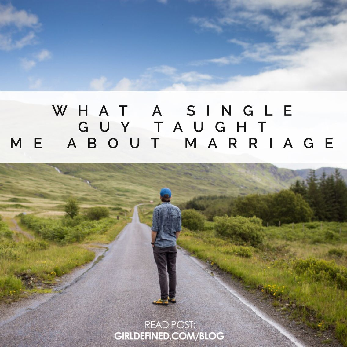 Single guy blog