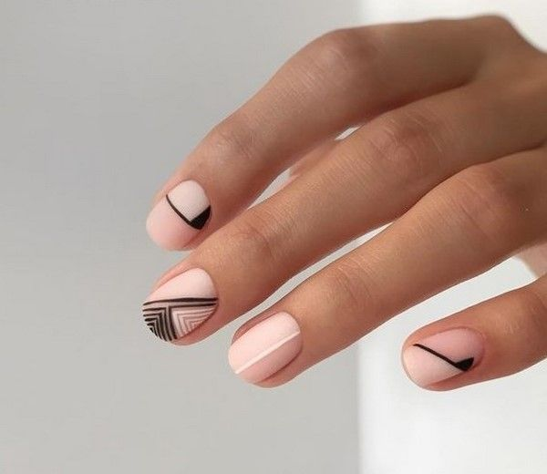 100 Newest Creative Nail Design Images 2019 2020 Lines On Nails Minimal Nails Creative Nails