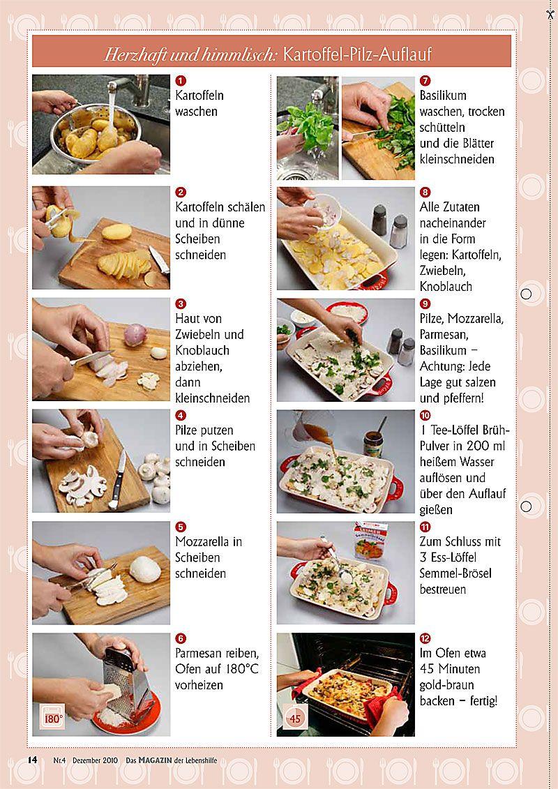 Kartoffel Pilz Auflauf Fotos Hans D Beyer Essen Pinterest