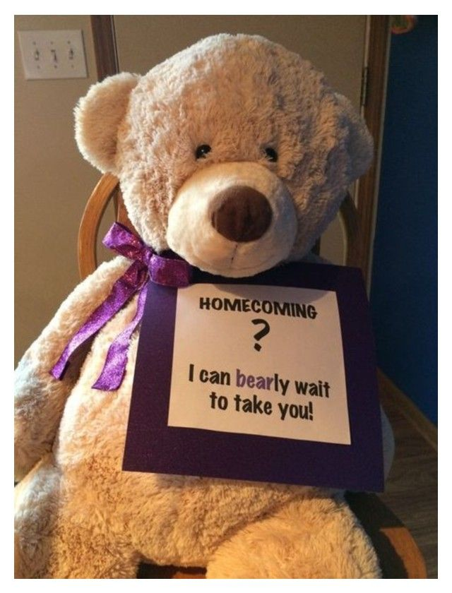 Simple ways to ask a girl to homecoming