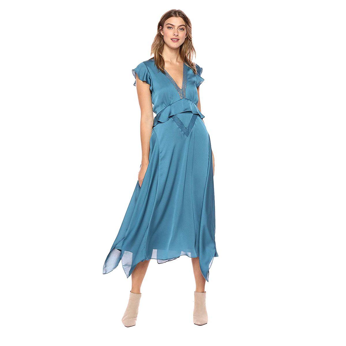 We Found 15 Gorgeous Wedding Guest Dresses On Amazon Tulip Wrap Dress Dresses Solid Maxi Dress [ 1200 x 1200 Pixel ]