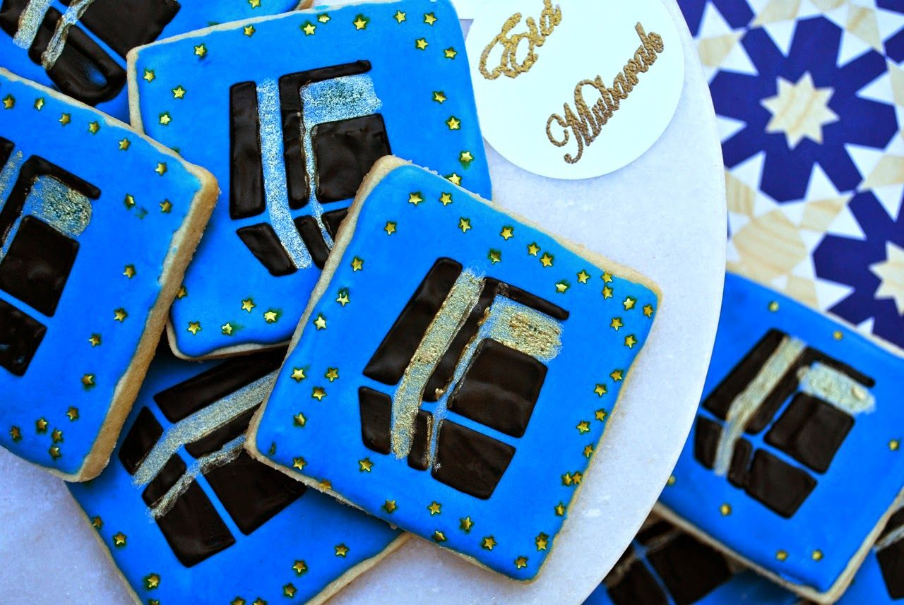 Eid al adha and hajj decorated cookies detailed recipes