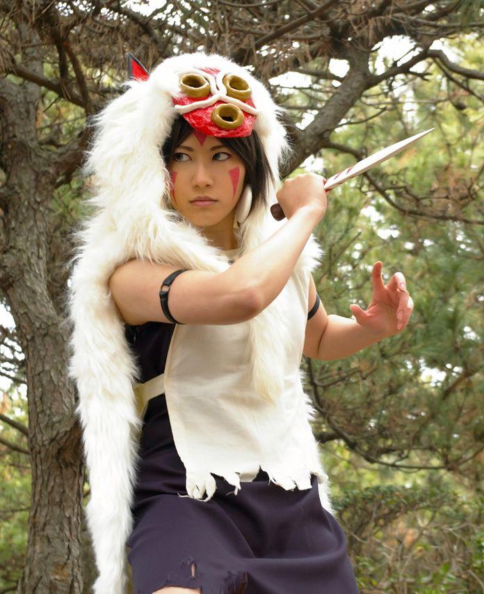 Best Of Cosplay Collection Princess Mononoke S San Princess