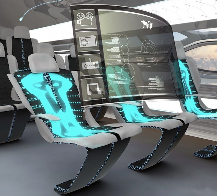 Cabin Of The Future Airbus 2050 New Technology Amazing Technology Technology