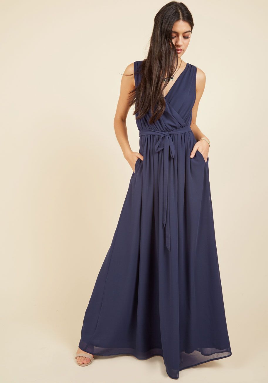 Terrace Affairs Maxi Dress | Azul